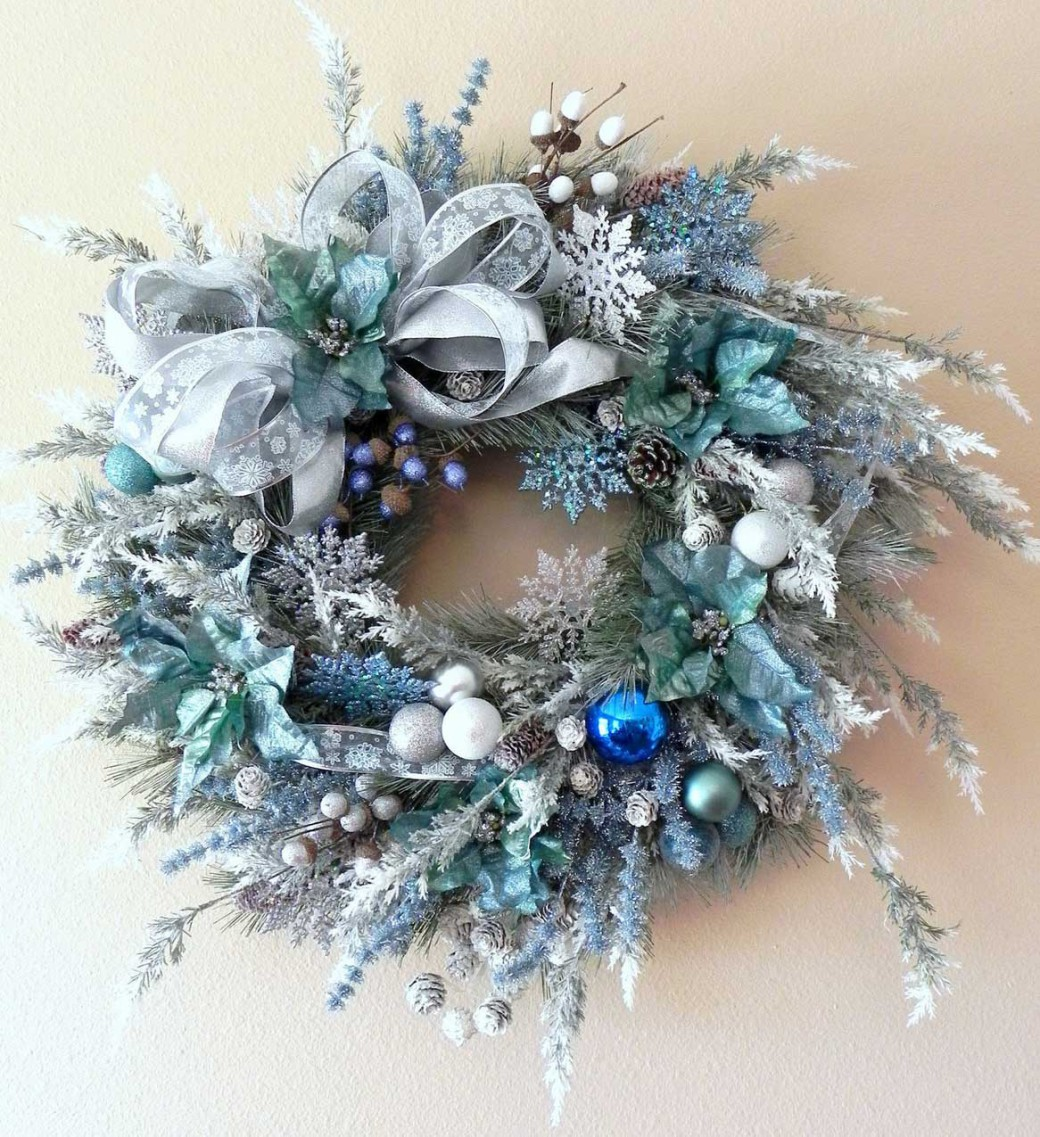 christmas-wreath-outline-blue-christmas-wreath-idea-krh4it-clipart