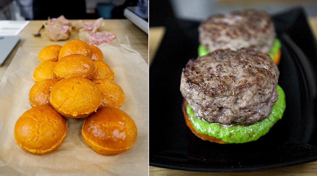рецепт мясной котлеты для бургера